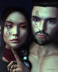 Doodles - Dragon Clan face paints