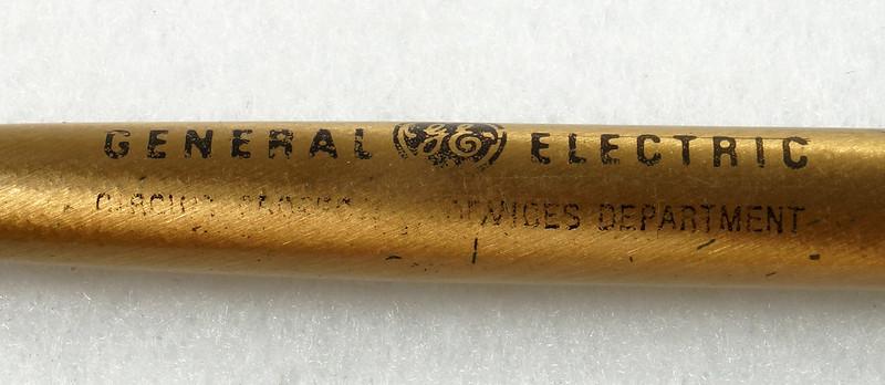 RD21486 Vintage Advertising General Electric GE Cross Ink Pens, Screwdriver & Flashlight DSC05399
