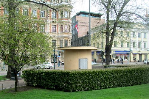 An Art Deco Kiosk, Helsinki