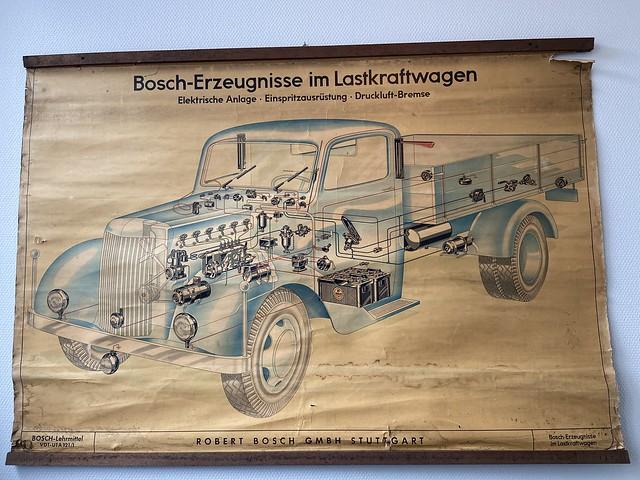 Bosch Erzeugnisse im lastkraftwagen