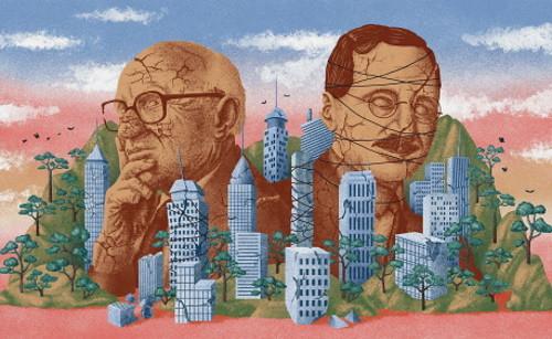 Milton_Friedman&Friedrich_Hayek