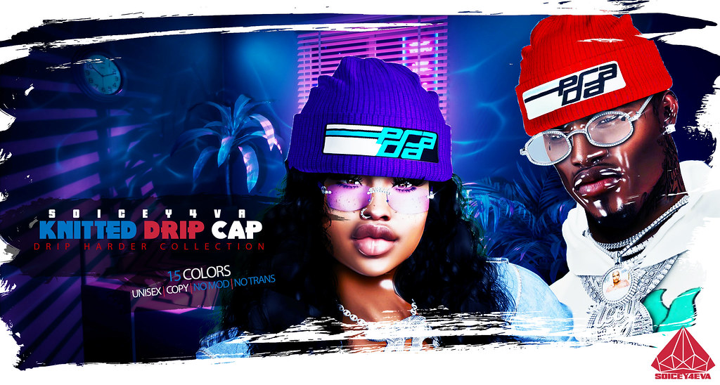 💎SOICEY4EVA💎 🍝KNITTED DRIP CAP💠 Now Available!