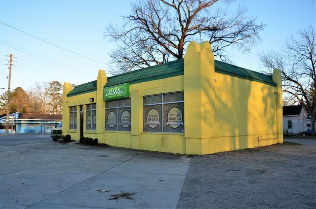 South Carolina, Cheraw, Former Esso Gas Station  (4,107-2)