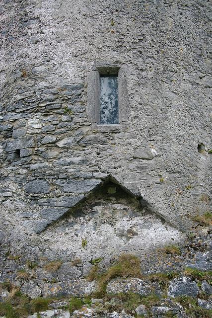 a window of Newtown Castle
