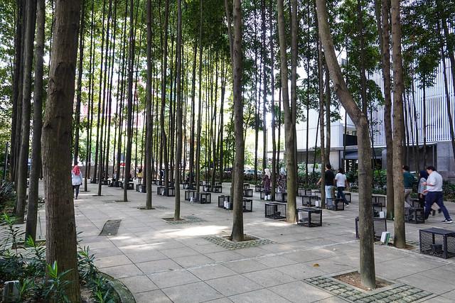 Refreshing city yard