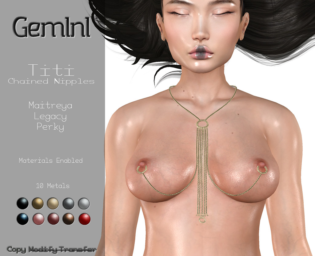 •Gemini -Titi Chained Nipples- @ Fetish Fair•