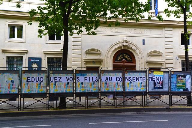 Eduquez vos fils... Paris 3ème. 23 mai 2020