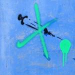 Corona graffiti at Preston Docks