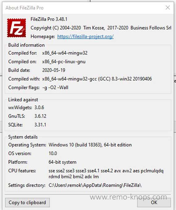 FileZilla Pro – FTP to S3, Azure Cloud Storage, OneDrive, Google Drive or DropBox 52
