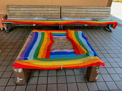 Rainbow Benches