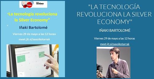 """La tecnología revoluciona la Silver Economy"" con Iñaki Bartolomé"