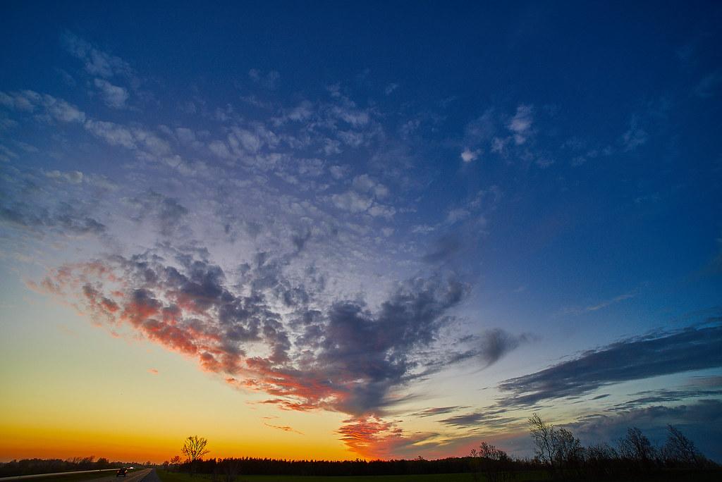 Sunrise on 115
