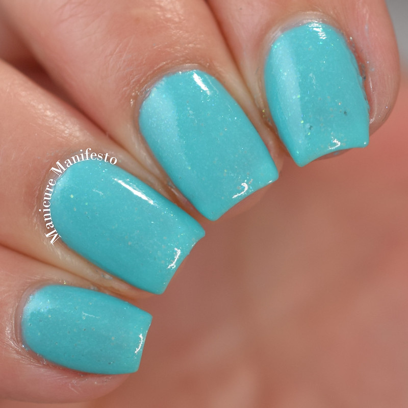 Girly Bits Cosmetics Mint-al Precision Review