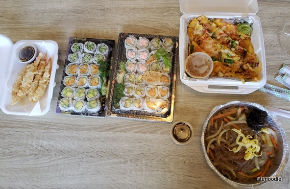Gal's Sushi takeout
