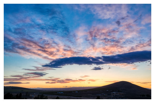 candymountain badgermountain richlandwa sunset