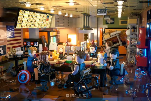 """Avengers shawarma"""