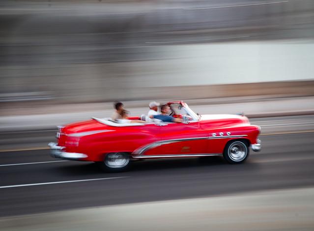 Along the Malecon - Havana