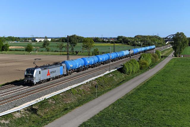 Railpool / Retrack 193 828 Nordheim (4609n)