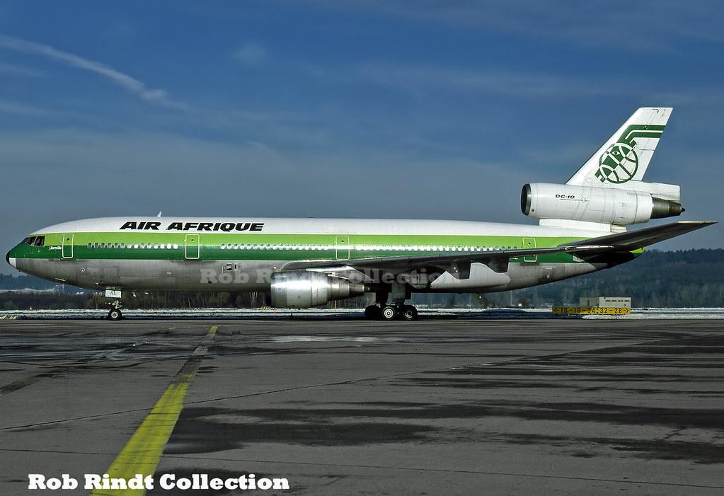 Air Afrique DC-10-30 TU-TAL