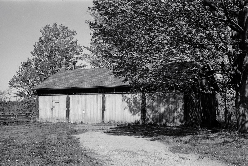 Garage Partly in the Shade