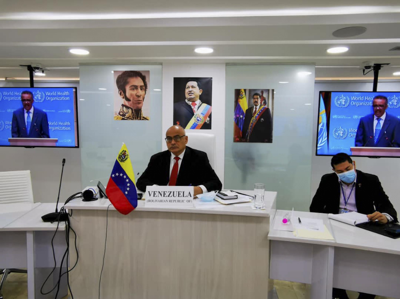 Intervención del ministro Carlos Alvarado ante la 73° Asamblea Mundial de la Salud