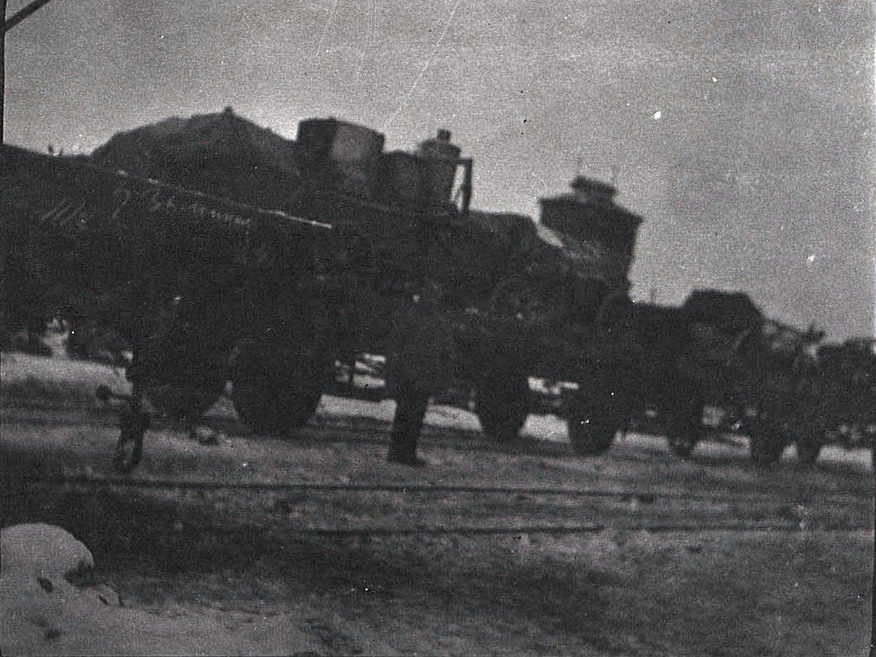 11. Передвижение отряда по железной дороге. 1915