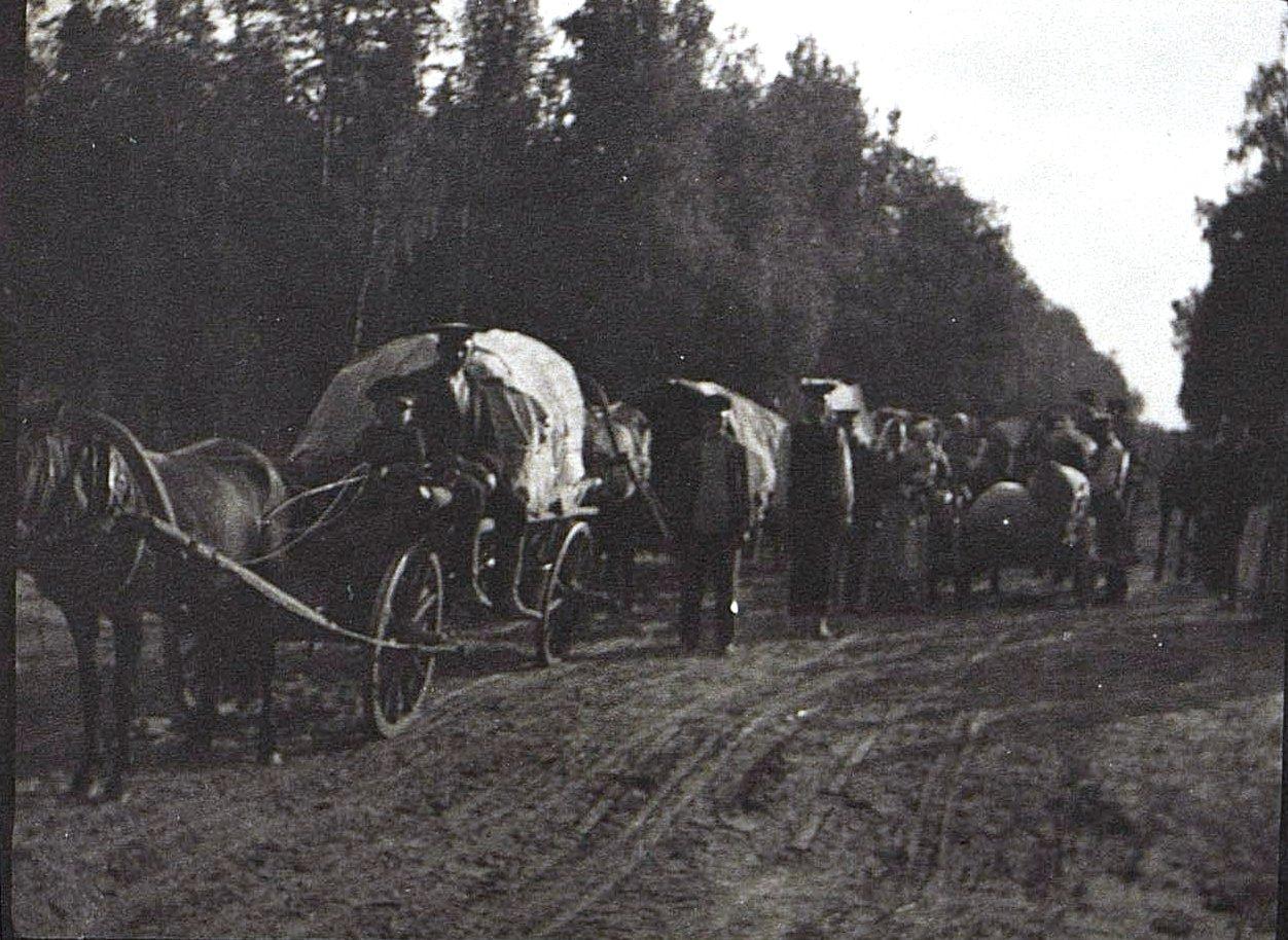06. Передвижение беженцев. 1915