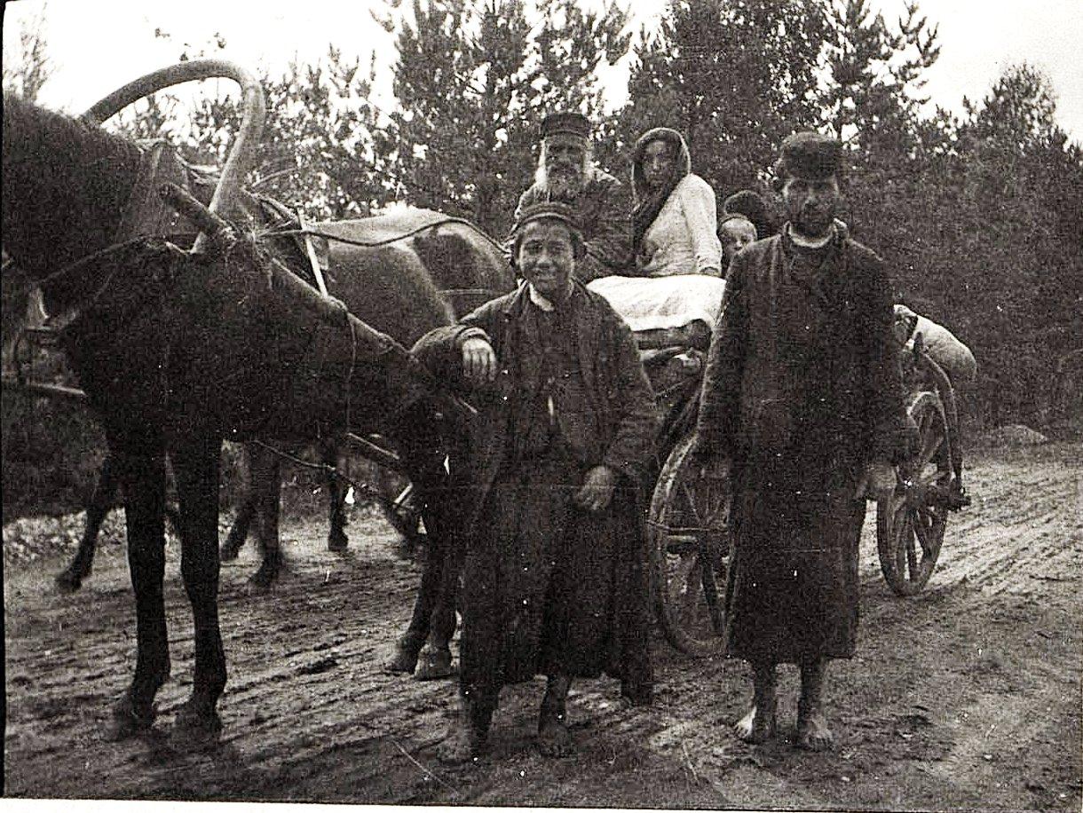 01. Евреи-беженцы. 1915