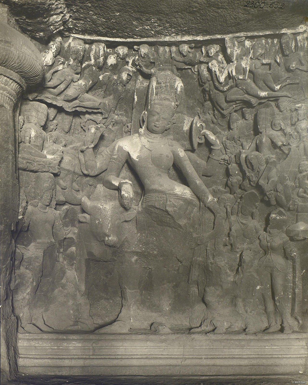 Пещерный храм в Элефанте (деталь рельефа) (1)