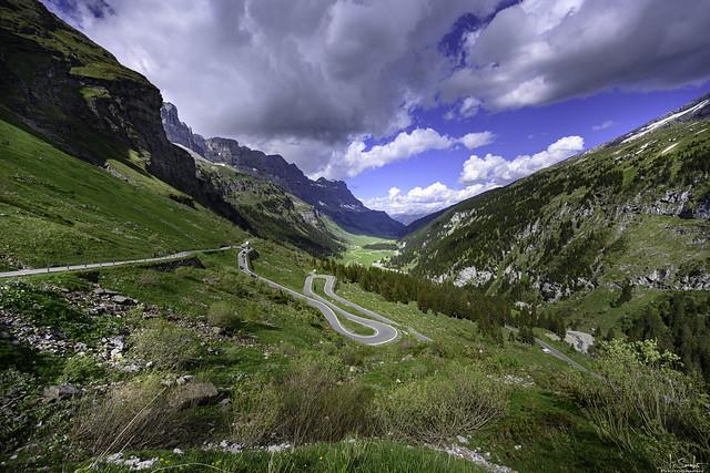Road to Klausenpass - Uri - Switzerland