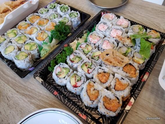 Gal's sushi rolls