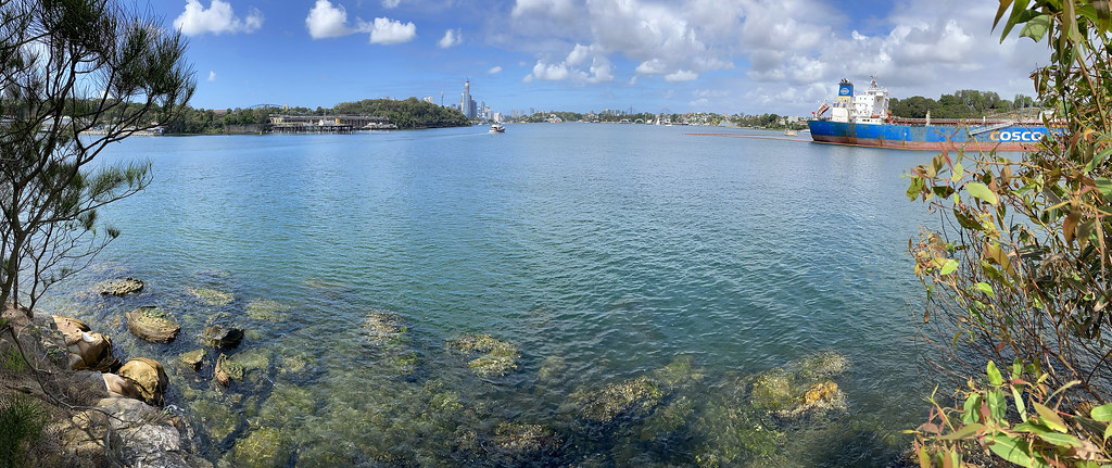 Berry Island lookout panorama