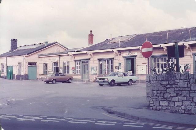 Weymouth Station c 1979