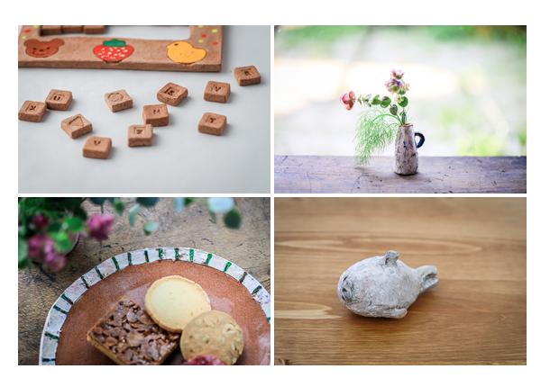 器(お皿)・パズル・アザラシ・花瓶 | オーブン陶芸作品