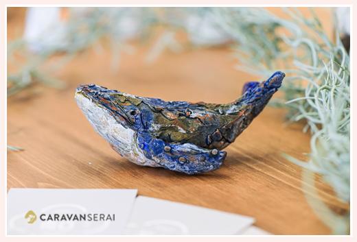 クジラ | オーブン陶芸作品