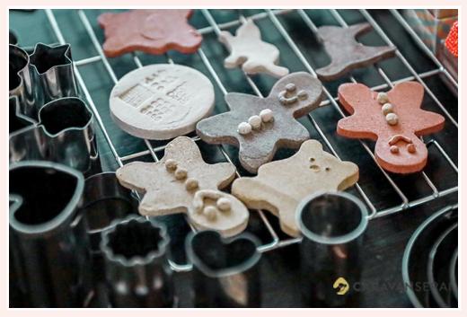 クッキー抜き型でできる陶芸 自宅のオーブンで焼く オーブン 陶土