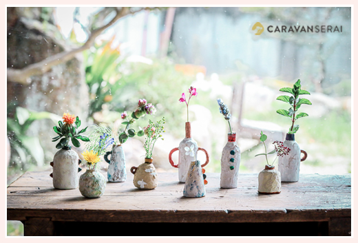 花瓶・花器 | オーブン陶芸作品