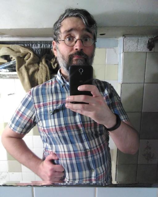Maximum beard #toronto #dovercourtvillage #me #selfie #mirror #beard