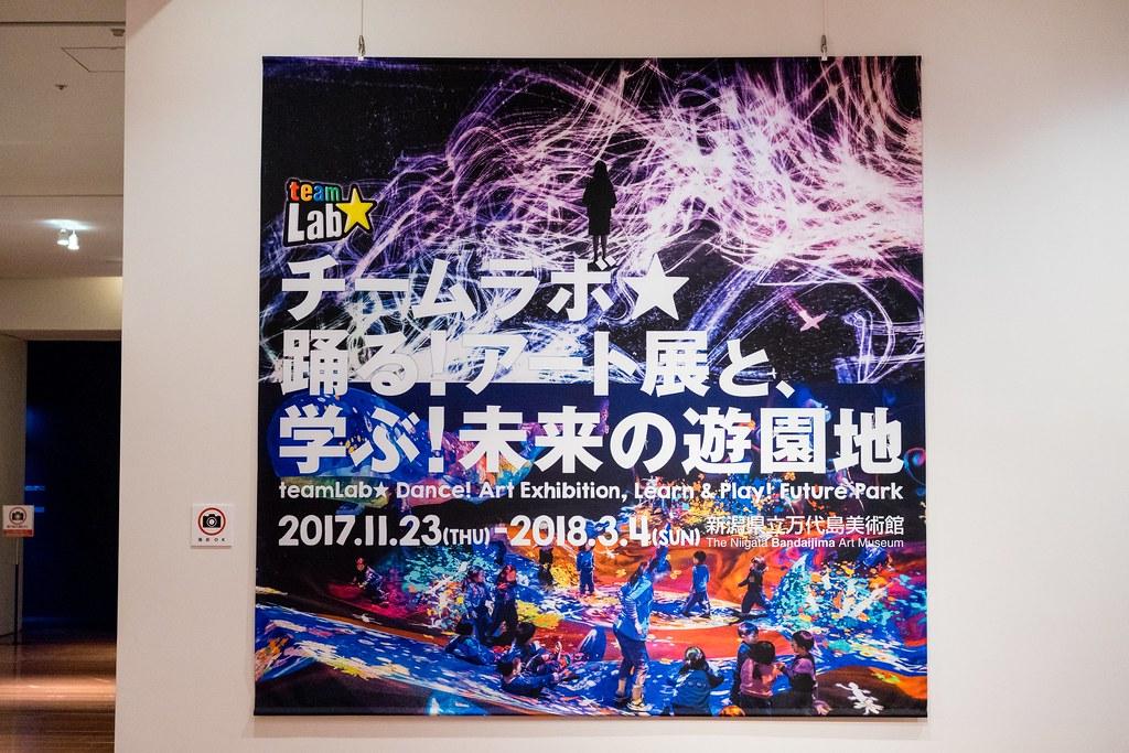 チームラボ★踊る!アート展と、学ぶ!未来の遊園地 万代島美術館 新潟市