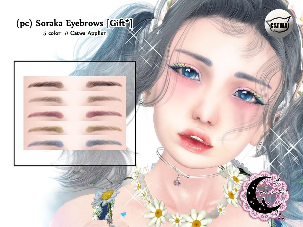 (pc) Soraka – Eyebrows [SOLA FESTA*Gift]