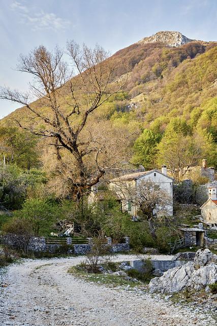 Selo Mala Učka i vrh Učke