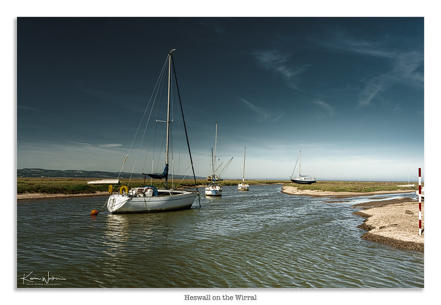 Heswall on the water