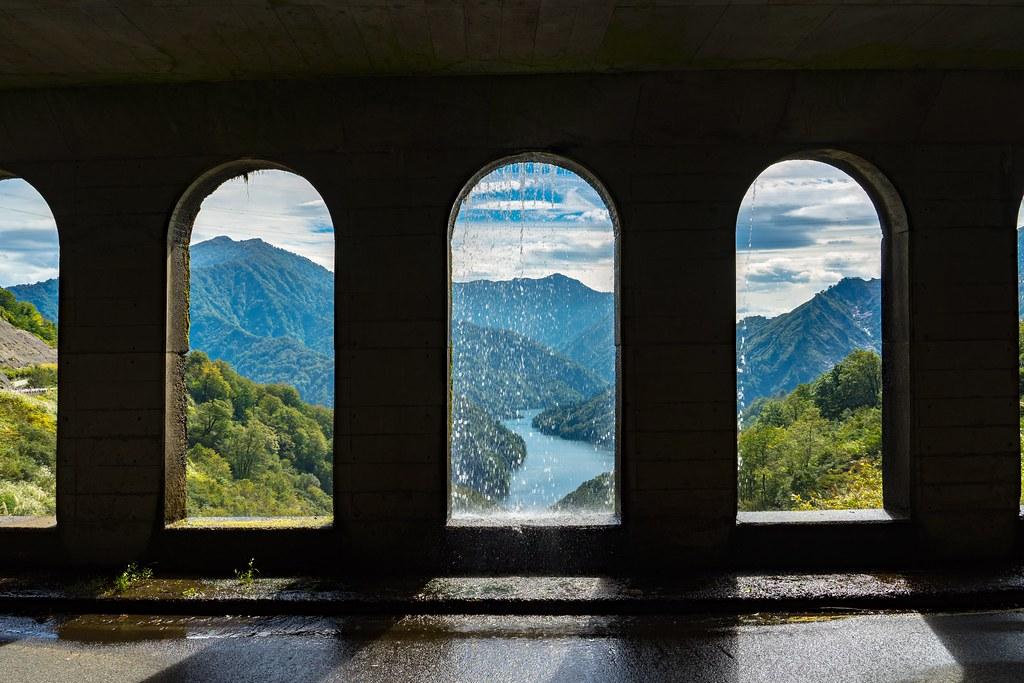 絵画のような風景 六十里越 田子倉ダム周辺