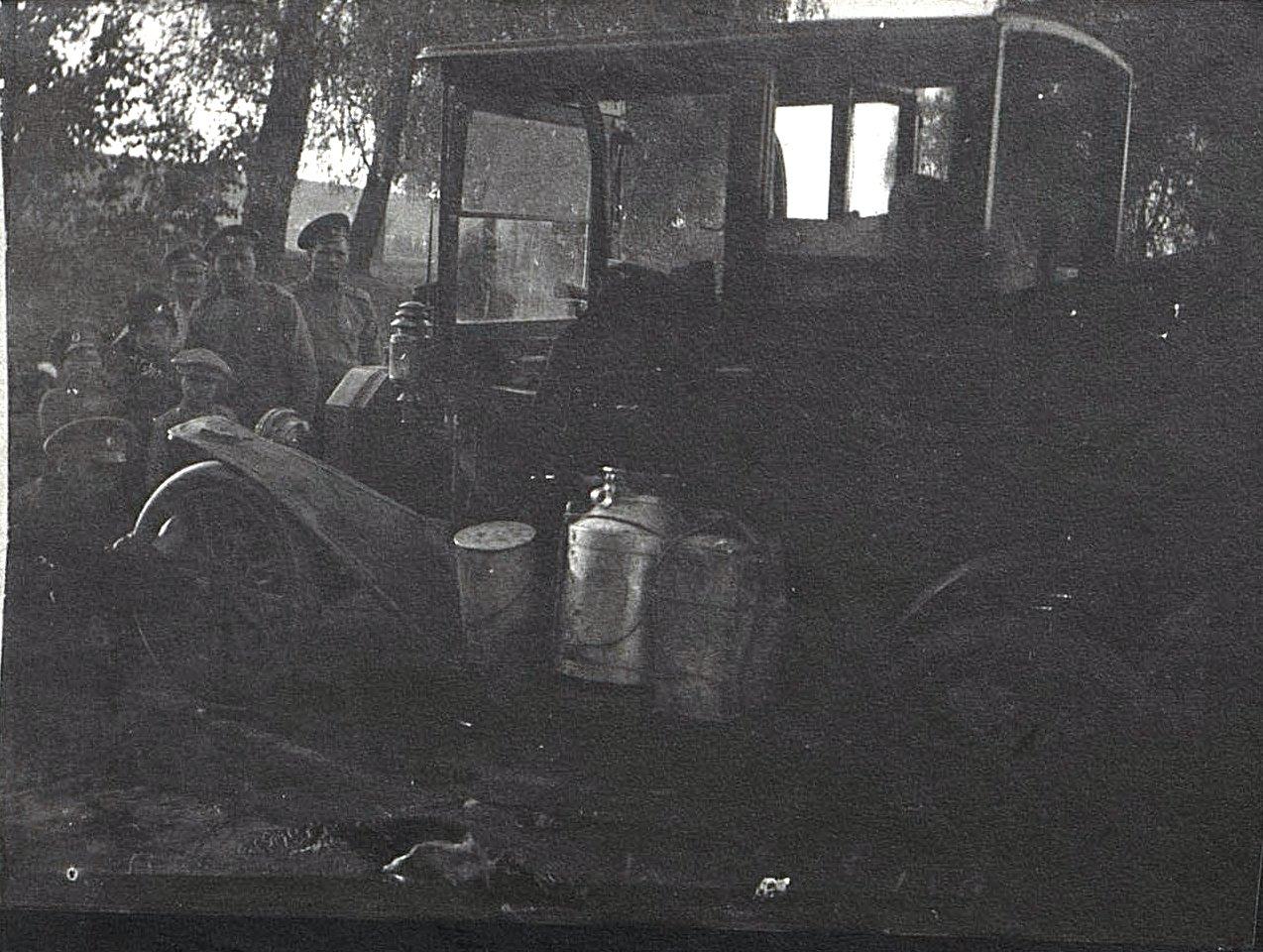 20. Катастрофа с автомобилем. 1915