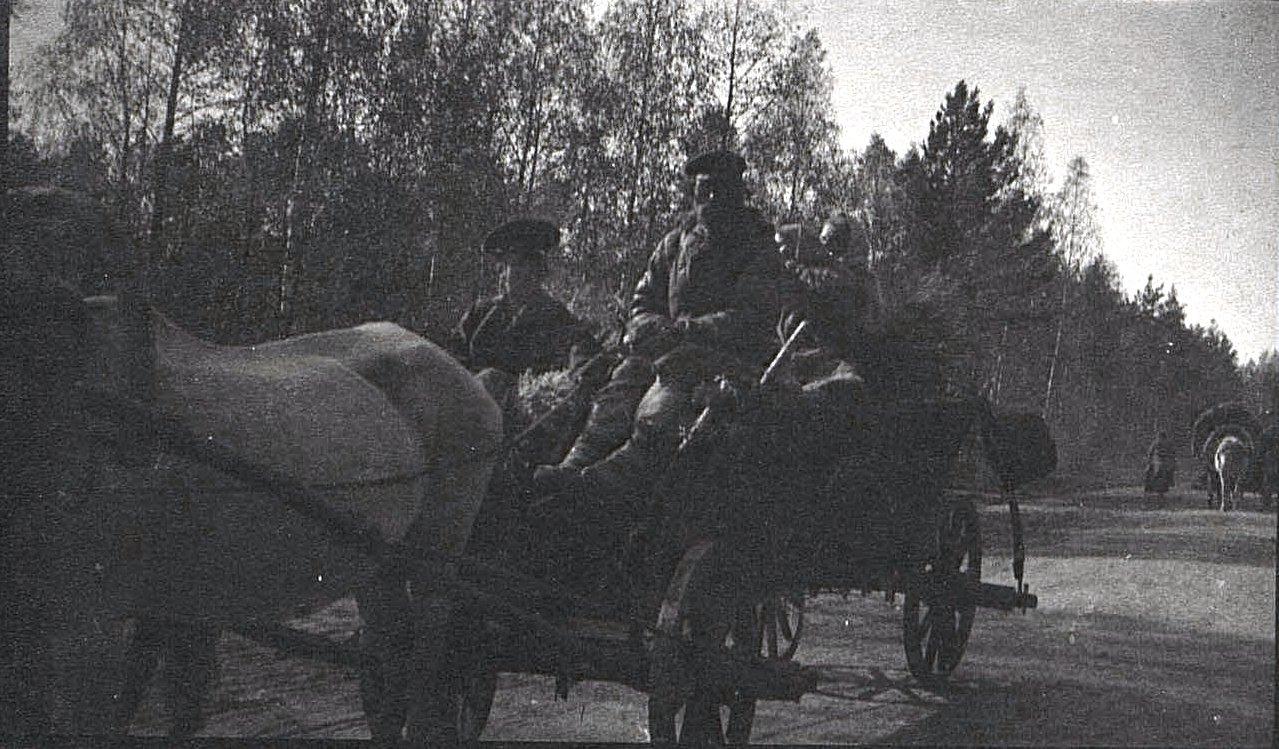 04. Передвижение беженцев Минской губернии. 1915