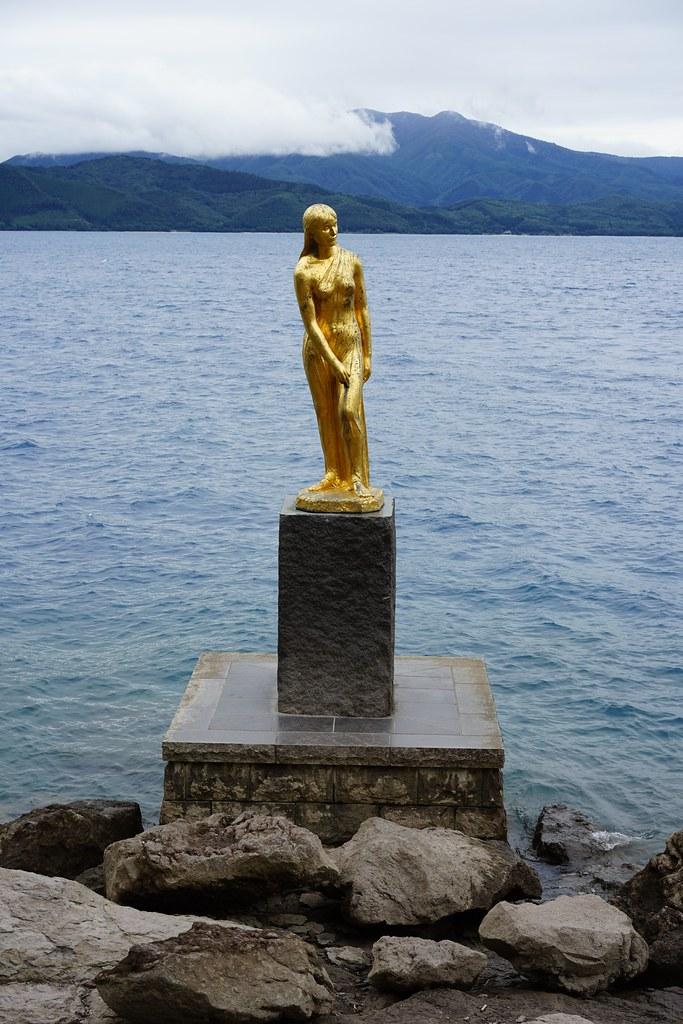 田沢湖 たつこ像
