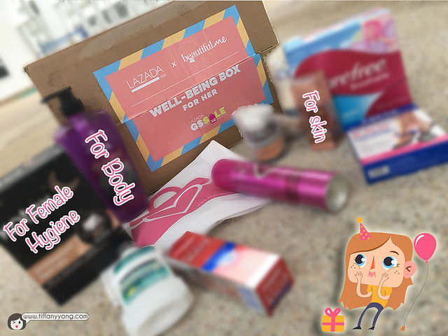 lazada-gss-beautiful-me-wellbeing-box-unboxing