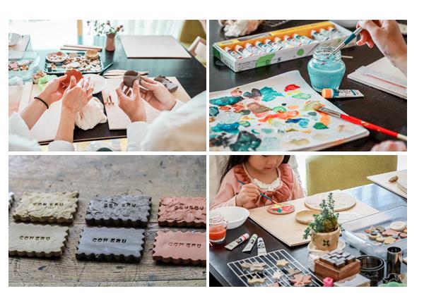 オーブン陶芸 絵の具で着色 釉薬不要 自宅でできる!
