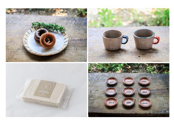 1袋(500g)で何ができる? | 陶芸用粘土(オーブン陶土)販売専門店「CONERU」さま