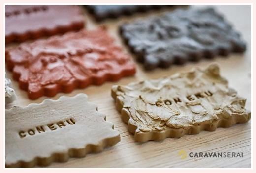 4色のカラー  |  陶芸用粘土(オーブン陶土)販売専門店「CONERU」